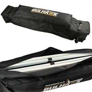 BULHAWK® 3x3 or 3x4.5 Heavy Duty Pop up Gazebo Wheeled Holdall Pully Storage Bag