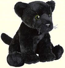 RAVENSDEN PLUSH BLACK PANTHER SITTING 26CM - FR005BP SOFT TEDDY CUDDLY BEAR CAT
