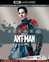 ANT MAN 4K + Bluray (No Digital) (No Slip Cover) Brand New Untouched