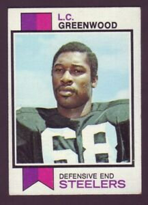 LC Greenwood Steelers 1973 Topps #165 vg-ex