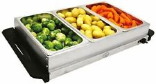 Quest 16520 Compact Buffet Server & Warming Tray 200w 2 Functions