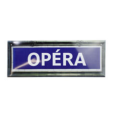 Plaque Métro Opéra