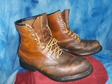 Vintage red wing boots steel toe size 13 #06161