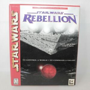 Star Wars Rebellion PC Big Box Game LucasArts 1998 ** Empty Box Only