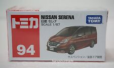 Takara Tomy Tomica 94 Nissan Serena Compact Van Model