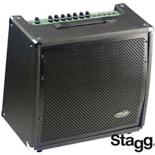 """NEW Stagg 60 Watts Performance Pro 3 Band EQ Bass Amp with 12"""" Speaker"""