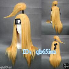 New Akatsuki Deidara women Blonde Cosplay Anime Wigs Classic wigs