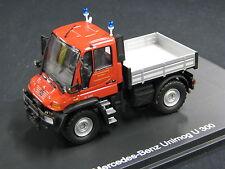 """Schuco Mercedes-Benz Unimog U300 1:43 """"Feuerwehr"""" FFW Stuttgart (JS)"""
