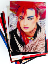 80s Party Decoration - 10 x 80s Pop Stars and Bands Posters - A4 Size