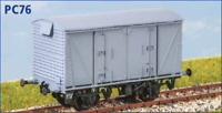 BR Vanwide with FAT19 suspension - OO gauge - Parkside PC76 - free post