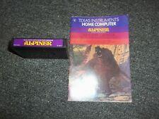 1982 Alpiner for Texas Instruments Computer