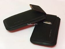 Premium Quality Leather Slip in Pouch Case Cover For Apple iPhone 4 4S 4G BLACK