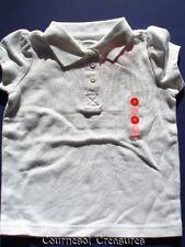 GYMBOREE White SSl Uniform Polo Shirt ~ 5 ~ NWT!