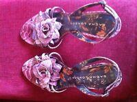 Sandalias de tacón piel con flor SACHA LONDON / Heel leather sandals with flower