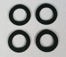 "(4x) Neoprene Washer, Gasket for 3/4"" Bulkhead Fitting, 2"" od x 1 1/4"" id"