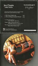 JEN CHAPIN  Little Hours RARE SINGLE MIX & AUDIO REVIEW PROMO DJ CD Single Harry