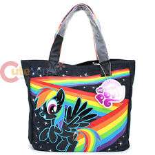 My Little Pony Rainow Dash Tote Bag Denim Shoulder Bag by Loungefly