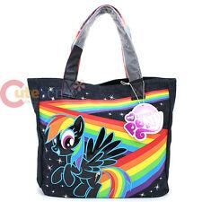 My Little Pony Rainow Dash Tote Bag Denim Shoulder Bag by Loungefly