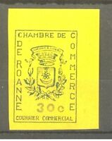 """FRANCE STAMP TIMBRE GREVE N° 14 """" CHAMBRE COMMERCE ROANNE 1968 """" NEUF xx SUP"""