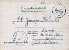 Camp Stalag IVA Hohnstein 1942 POW Prisoner of War Kriegsgefangenenpost (L15a)