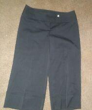 Junior womens gaucho style capri pants-Black- No Boundaries size 7