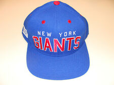 New York Giants Blue Reebok NFL Football Snapback Cap Hat One Size Fits Most