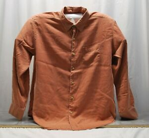 Tommy Bahama Full Button Long Sleeve Light Rust SZ XL