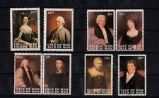 Local- Isle of Man - Royalty Famous People Set of 8 -sr
