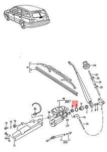 Genuine Volkswagen Seal Ring NOS Passat syncro 31 333955265