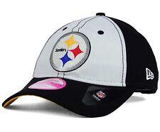 Pittsburgh Steelers NFL New Era 9Twenty Women Glimmer Strapback OSFA Cap Hat 4ab40b719