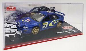 """1/43 IXO SUBARU IMPREZA WRC 1998 """"Rallye Monte-Carlo"""""""