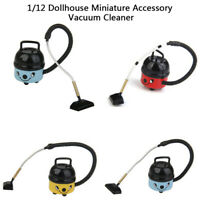 1Pc 1:12 Dollhouse Miniature Vacuum Cleaner Doll House Home Decor Accessories 3C