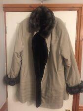 dennis basso womens coat XL