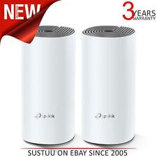 TP-Link Deco E4 AC1200 Dual-Band Whole Home Mesh Wi-Fi System (2 Pack)   White