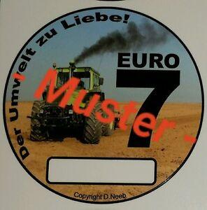 Euro7 Spaßaufkleber MB Trac