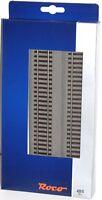 Roco H0 42510-S Gerades Gleis G1 mit Bettung, Länge 230 mm (6 Stück) - NEU + OVP