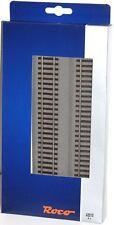 ROCO H0 42510-s VÍAS RECTAS G1 con ropa de cama, Longitud 230mm (6 piezas) -