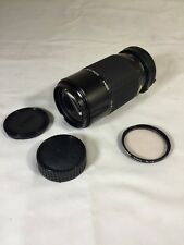 SIGMA Zoom k III 1:3.5-4.5 f 75~210mm Minolta Mount Vintage Camera Lens W Filter
