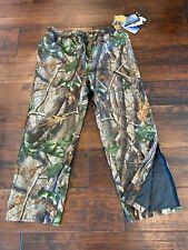 Nwt Red Head Squaltex Rainwear Pants Cammo Realtree Hardwoods Green Hd Size Xl
