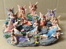 Set Of 12 Magical Fairies Complete With Display Stand. -  Limited Stock