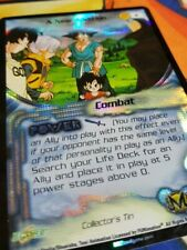 Dragon Ball Z Score CCG A New Addition 2 Collector Tin Promo DBZ TCG