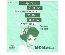 CONNIE FRANCIS - Tennessee waltz                     ***Japan - Press***