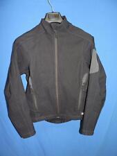 REI M Womens Black Softshell Jacket Full Zip Soft Shell Coat With Pockets Medium
