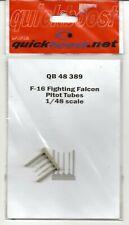 Quick Boost F-16 Fighting Falcon Staurohre, Kunstharz Aufrüstungen 1/48 389 St