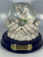 "Vintage Musical Snow Globe Millennium ""Joy to the World"" San Francisco Music"