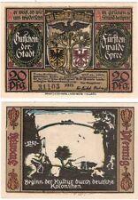 Allemagne 20 pfennig 1921 NOTGELD Furstenwalde UNC banknote