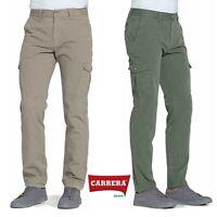 Pantaloni da uomo cargo CARRERA JEANS mod 619A regular gabardina leggera tasconi