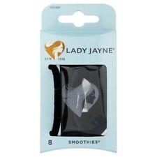 Lady Jayne Smoothies Luxury Velvet Elastics 8 Pcs Black