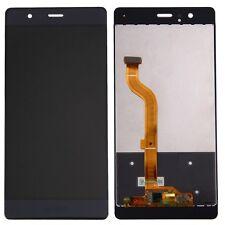 "GLS DISPLAY LCD+ TOUCH SCREEN PER HUAWEI P9 5,2"" NERO EVA-L09 +FLAT FLEX VETRO"