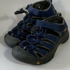 Keen Kids  Water Shoes Sandals Toddler 12 Blue Gray Waterproof Gold Sole